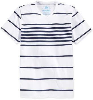 American Rag Men Stripe V-Neck T-Shirt