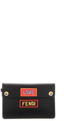 Fendi Logo Clutch Bag