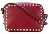 Valentino Women's Red Leather Shoulder Bag.