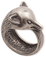 Z Designs Burnished Metal Fox Wrap Ring