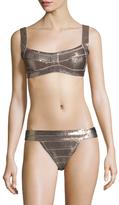 Herve Leger Carmella Bikini Top
