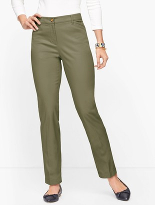 Talbots Stretch Cotton Chinos - Curvy Fit