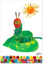 Eric Carle Caterpillar on a Leaf Wall Art