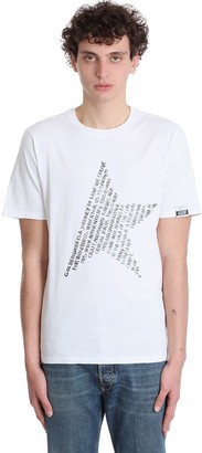 Golden Goose Adamo T-shirt In White Cotton