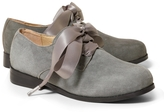 Brooks Brothers Suede Oxford Shoes