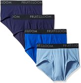 Fruit of the Loom Men's Breathable Brief Assorted Colors (Pack of 4)