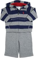 Ralph Lauren Striped Cotton Sweatshirt & Pants