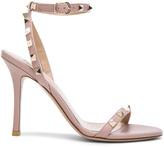 Valentino Leather Rockstud T.100 Sandals
