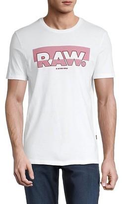 G Star Graphic Cotton T-Shirt