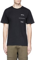 Public School 'Grohl' acronym embroidered T-shirt