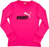 Puma Forever Faster Long Sleeve Tech T-Shirt (4-6X)