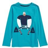 Tea Collection Toddler Boy's Strongman Graphic T-Shirt