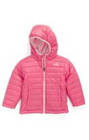 The North Face 'Mossbud Swirl' Reversible Water Repellent Jacket (Toddler Girls & Little Girls)