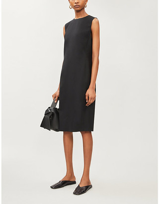 Theory Eano knee-length stretch-wool dress