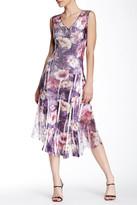Komarov Chiffon Insert Dress