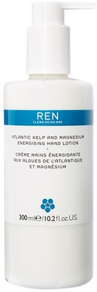 REN Atlantic Kelp And Magnesium Salt Energising Hand Lotion, 300ml