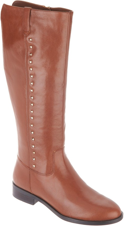 Marc Fisher Medium Calf Leather Tall Shaft Boots - Secrit