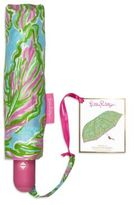 Lilly Pulitzer Nylon Travel Umbrella