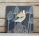 Bird Goldfinch Placemat 'Gloss'