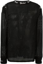 Kokon To Zai ribbed shoulder sweatshirt - unisex - Polyester - S