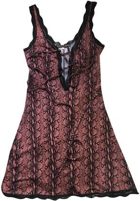 ALEXACHUNG Alexa Chung Pink Viscose Dresses