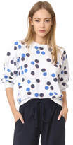 MAISON KITSUNÉ Allover Dot Sweatshirt