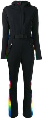 Perfect Moment rainbow trim jumpsuit
