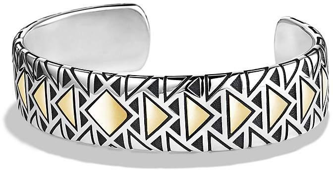 David Yurman Cuff Bracelet with 18K Gold