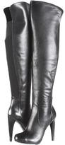 Nine West Chriscross (Black/Black Leather) - Footwear