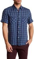 Billy Reid Donelson Standard Fit Short Sleeve Shirt