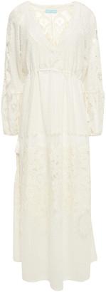 Melissa Odabash Melissa Cotton-blend Lace Maxi Dress