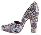 Rachel Comey Floral Print Pointed-Toe Pumps