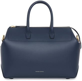 Mansur Gavriel Calf Mini Travel Crossbody Bag - Blu