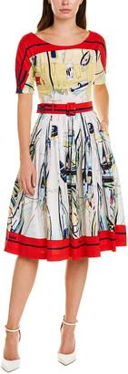 Samantha Sung May A-Line Dress