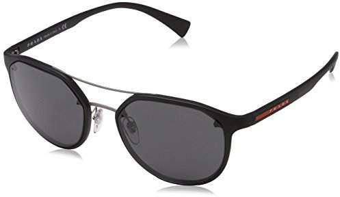 Prada Sport Men's PS55SS DG05S0 Sunglasses, (Black/Grey)