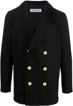 DEPARTMENT 5 Double-Breasted Military Jacket