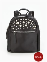 Very Pearl Embellished Mini Backpack