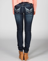 ZCO Studded Wings Womens Skinny Jeans