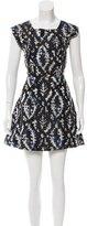 Theyskens' Theory Brocade Silk Dress