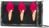 Stella McCartney ice-cream embroidered Surf Falabella bag - women - Polyester/Metal (Other) - One Size