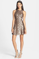 Dress the Population Mia Sequined Skater Dress