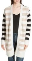 Diane von Furstenberg Women's Stripe Oversize Cardigan