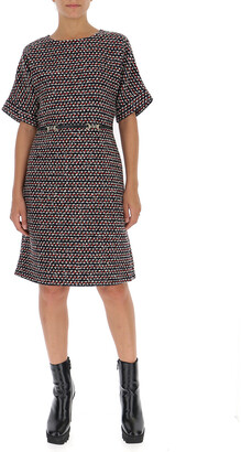 Gucci Sequin Tweed A-Line Dress