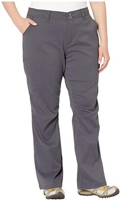 Prana Plus Size Halle Pants (Coal) Women's Casual Pants