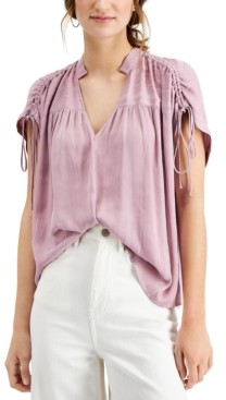 Current Air Tie-Sleeve Top