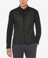 Perry Ellis Men's Big & Tall Jacquard Vest