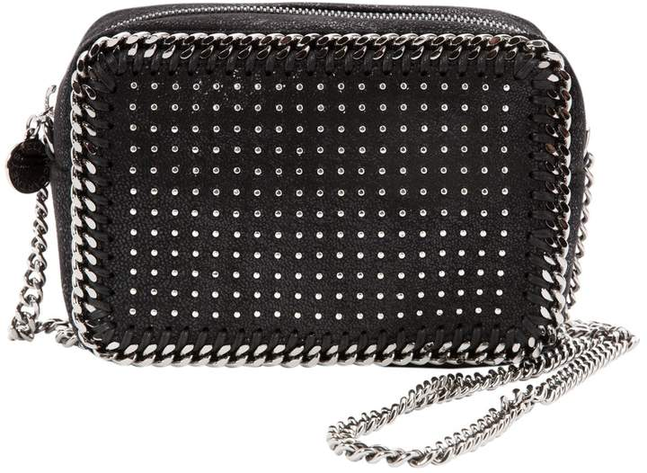 Stella McCartney Stella Mc Cartney Falabella Black Leather Handbag