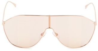 Fendi FF 99MM Shield Sunglasses