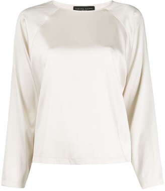 Fabiana Filippi Round Neck Blouse