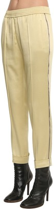 Haider Ackermann Elastic Straight Leg Pants